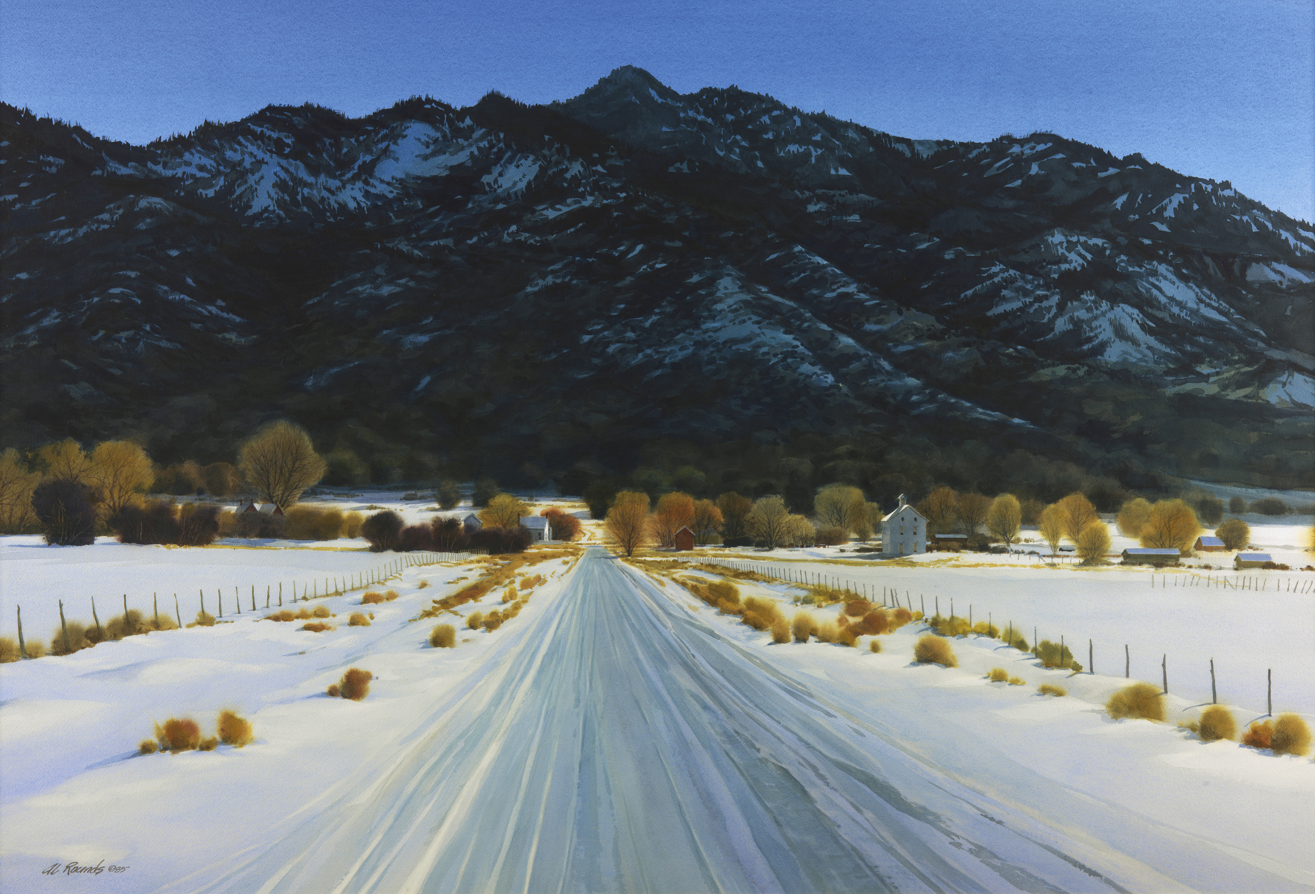 Pine Valley Winter Al Rounds